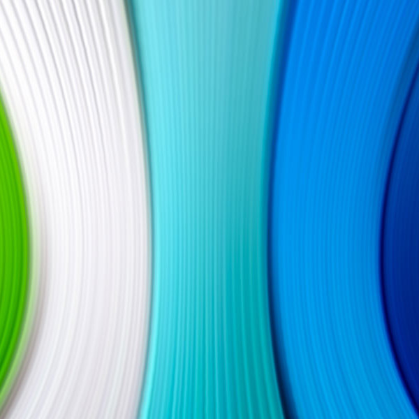 Coloured edging tape