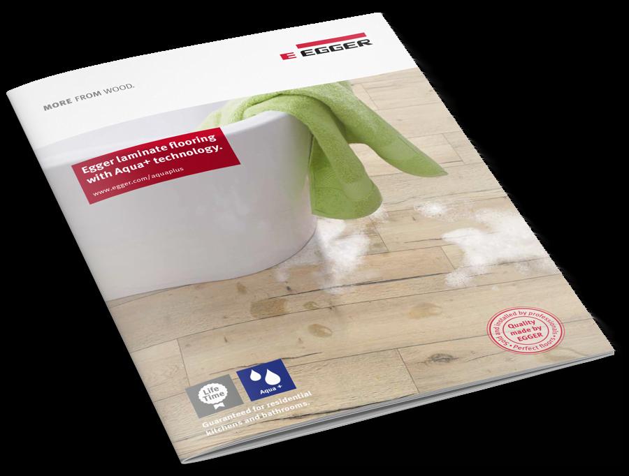Egger Aqua flooring booklet