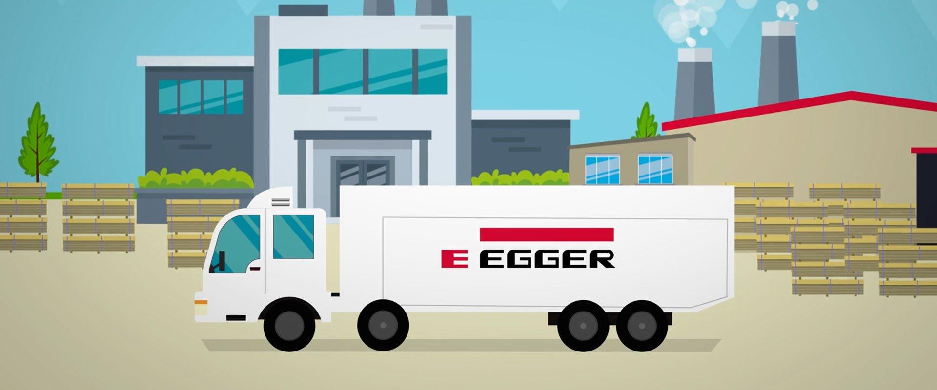 Egger truck header