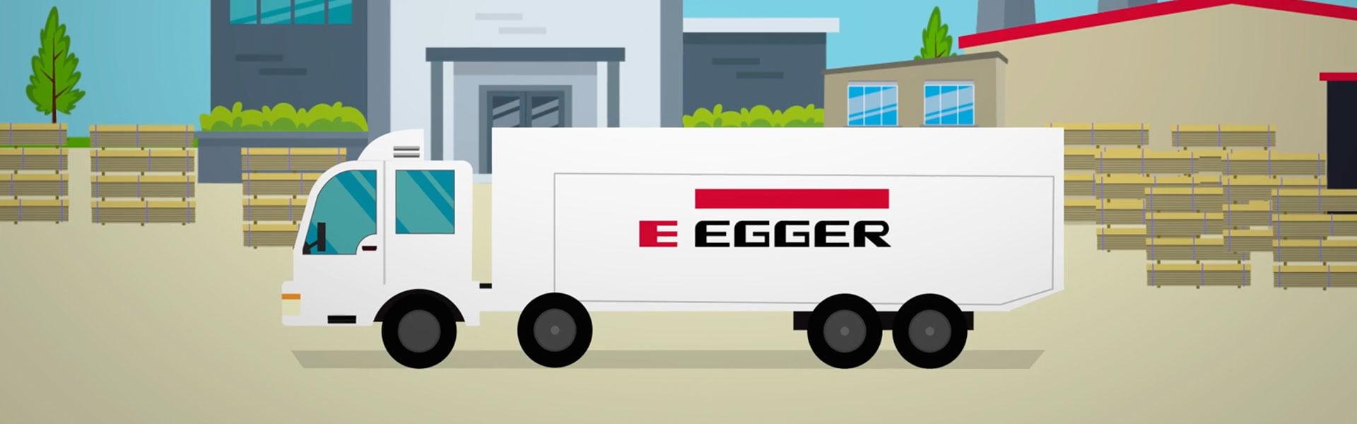 Egger truck